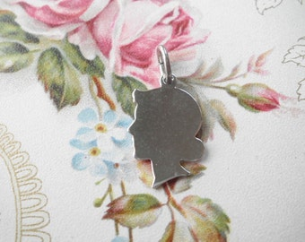 Vintage Griffith Sterling Little Girl Charm