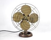 Vintage Emerson Electric Industrial Desk Fan