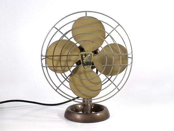 Emerson Desk Fan : Vintage emerson electric industrial desk fan