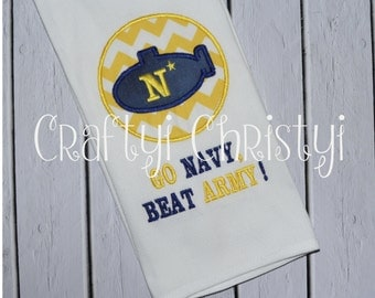 GO NAVY! Submarine Kitchen Towel