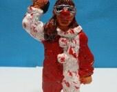 Halloween Slasher Girl Figurine(MM2)*Made to order*