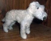 Needle Felted Irish Wolfhound