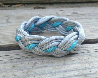 Survival Bracelet, Paricord Bracelet, Outdoors Bracelet, One Strand Bracelet,  Survive Jewelry, Braided Bracelet, Paricord Jewelry [LBBR01P]