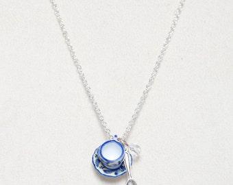 Alice Tea Cup Necklace