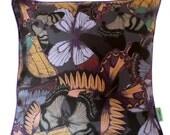 Silk Butterflies Cushion/Pillow - Sample SALE