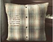 Reserved Memory Pillow Listing for Regina