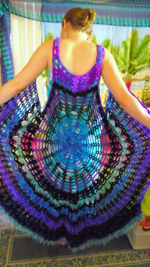 Mandala Spiderweb Renaissance Medieval Gothic Vest Dress Choose Your Color