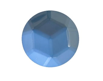 Sky Blue Facet Dome button (no.00393)*Available in Quantity*