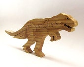T-Rex Dinosaur Wood Puzzle