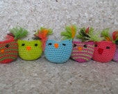 ONE Owl Cat Toy Pouch by Catopia9 High Quality organic Catnip/Valerian, hand-crochet, wool/bamboo yarn. FREE SHIPPING