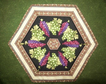 mug rug - candle mat