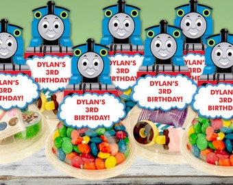 Thomas the Train Party Favors Candy Containers