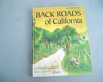 Back Roads Of California, California, Travel Guide, California Roads, Back Roads, Historical Sites,Travel Book, California History, Route 66