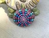 Mandala Dot Rock with Bonus