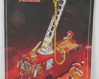 Hallmark Firehouse Friends Vintage Centerpiece