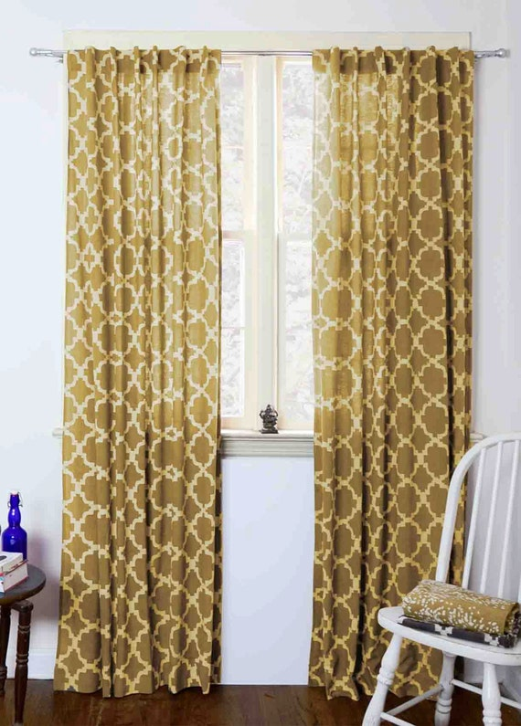 Like This Item?  Mustard Yellow Curtains