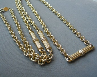 Vintage Accessocraft  N.Y.C Chain Necklace