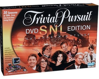Vintage 1994 SNL Trivial Pursuit Board Game Up to 8 Players Good Condition