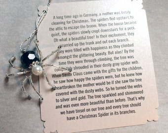 German Christmas Spider – Black