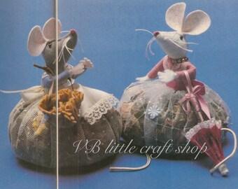 Pot-pourri mouse sewing pattern. Instant PDF download!