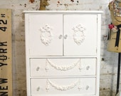 Painted Cottage Chic Shabby French Dresser/ Chest CH835