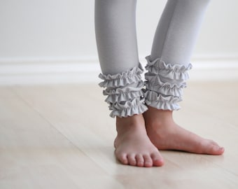 Child Bottoms Pattern LACI LEGGINGS Girls Ruffled Pants pdf Sizes 1-5 ONLY #208 (1-5)