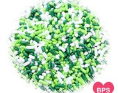St Patrick's Day Jimmies Sprinkles, Green Jimmies, Christmas Sprinkles, Ice Cream Sprinkles, Cupcake Sprinkles, Green Sprinkles