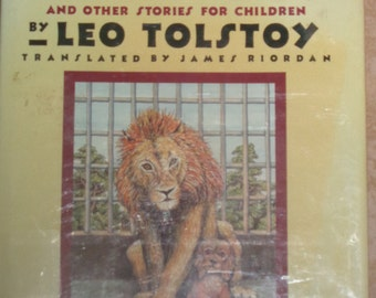 The Lion and the Puppy and other stories for Children by Leo Tolstoy Translation Copyright-1988