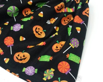 Today ONLY SALE Sweet Treats on Black Twirl Skirt - Baby Toddler Girl -Mod Trendy -Fall, Halloween - Ships Tomorrow