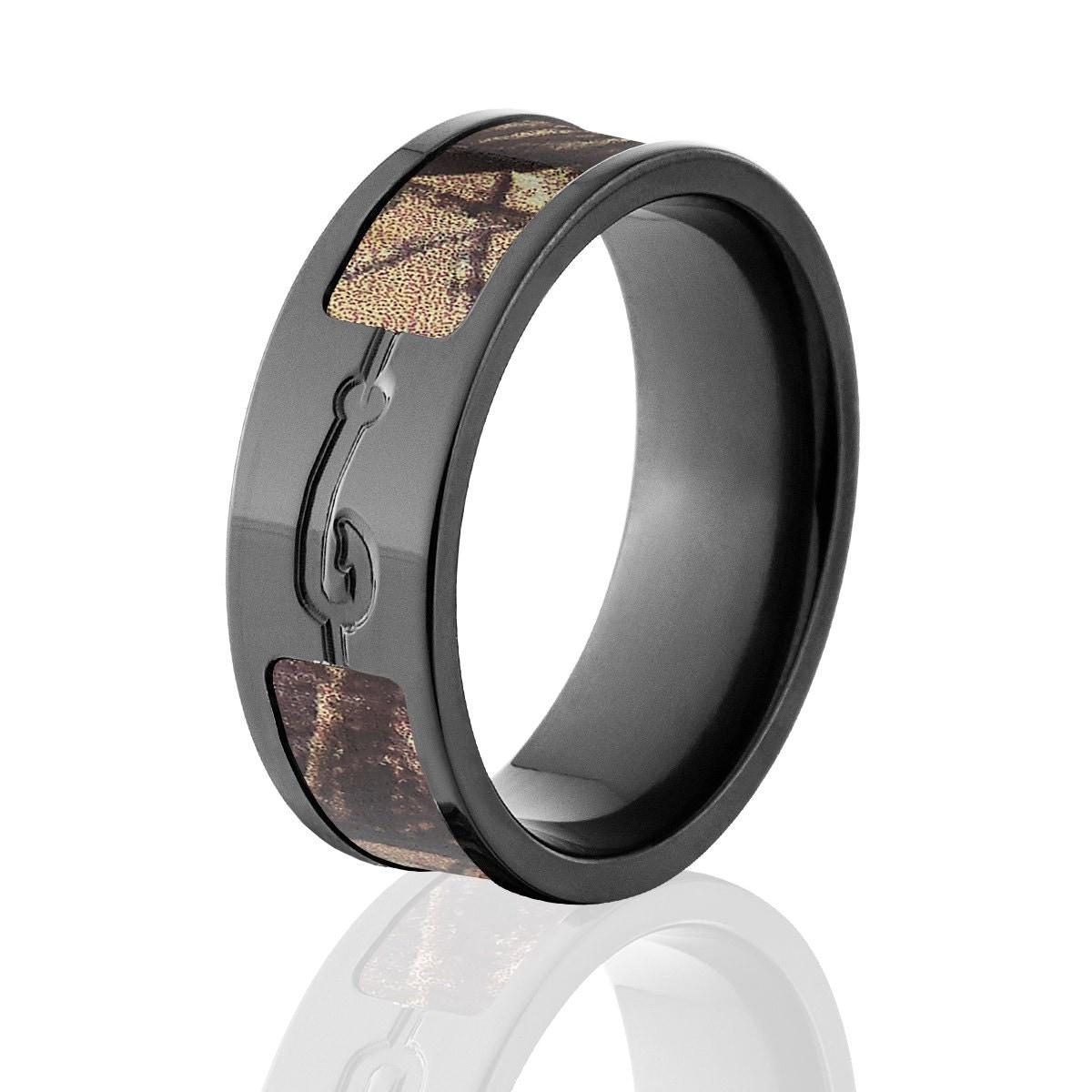 Realtree Wedding Rings: Fishhook AP Camo Rings RealTree Camo Rings Camo Wedding