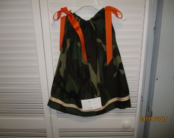 Camo Pillow case Dress