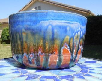 Blue Orchard Salad Bowl