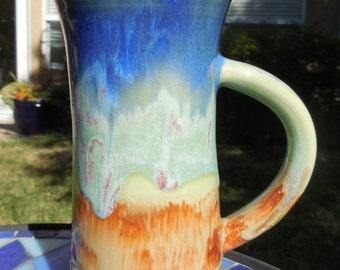 Brush Fire IV - 11 ounce  - Tea Mug - Hot Chocolate Cup