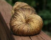 Golden Compass - Lotus Silk/BFL Sock yarn - 100g