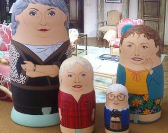 The Golden Girls Matryoshka Dolls