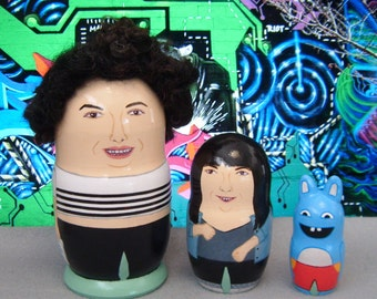 Broad City Matryoshka Dolls