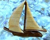 Sail Boat Pin / Lapel Pin