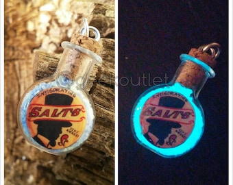 Glow in the Dark BioShock Invigorating Salts Necklace