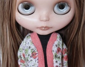 Neo Blythe - Floral Cardigan (#2)