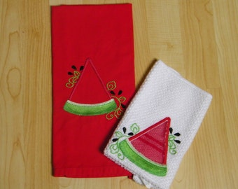 Scrubbie dishcloth with matching towel