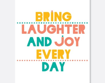 Laughter and Joy Cancer Card