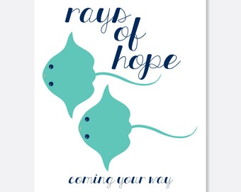 Rays of Hope Cancer Card