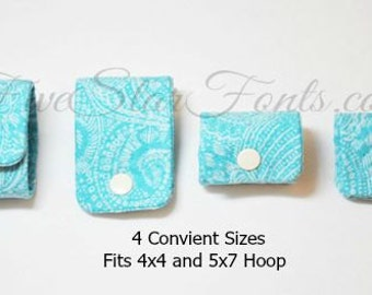 Scrappy Fabric Cord Wraps In the Hoop