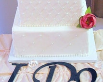 ON SALE I Do Cake Table Letters for Wedding Cake Table Decor, Wedding Reception Decor, Wedding Decorations
