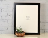 16x20 Picture Frame in Outside Cove Style with Vintage Black Finish - IN STOCK - Same Day Shipping - 16 x 20 Sale Frame Rustic Black