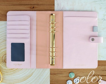 Platinum Rose Webster's Pages Color Crush A5 Binder Only (IN STOCK) Free Washi Tape with this order