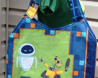 Wall E Tote Bag  Vintage Disney