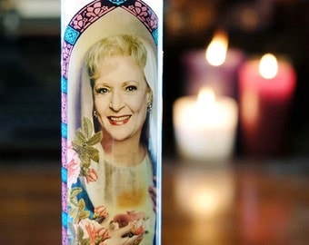 Saint Rose Prayer Candle / Golden Girls / Betty White