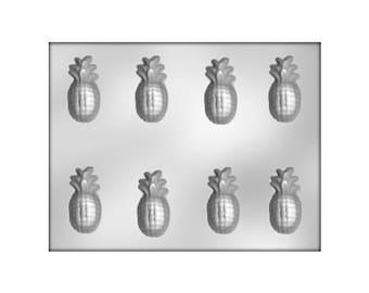 Pineapple Chocolate Mold, Pineapple Candy Mold, DIY Wedding Favor, Tropical Chocolate Molds
