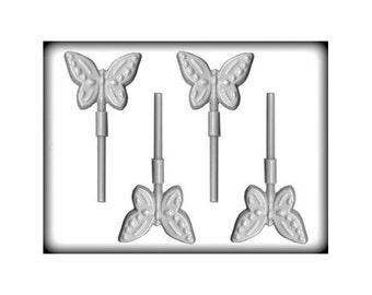 Butterfly Lollipop Mold, Butterfly Hard Candy Mold, Butterfly Candy Mold